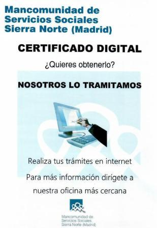 Tramita tu certificado digital